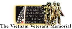 Link to Vietnam Veterans' Memorial Wall Page.